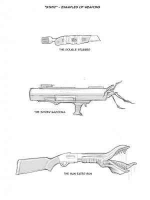 Static – Weapons Concepts